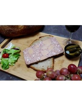 Pâté Goûter Périgourdin - Barquette de 1 tranche 180 gr