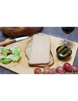 Mousse de Canard pur canard au Monbazillac -  Barquette de 1 tranche 180 gr