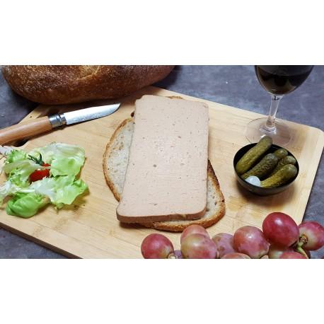 mousse de canard pur canard au monbazillac - 1 tranche 180 gr