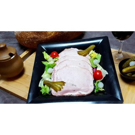 rôti de porc cuit à l'ancienne - 4 tranches 200 gr