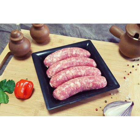 Saucisse de Toulouse Sans Colorant x 10 - Barquette de 1.2 kg environ