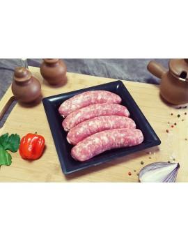 Saucisse de Toulouse Sans Colorant x 20 unités soit 2.4 kg env. la barquette