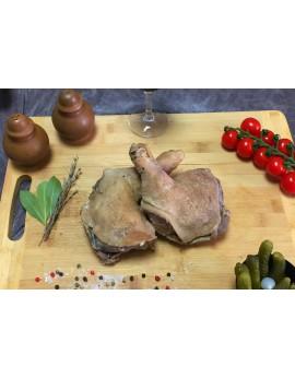 Confit de poule Barquette de 8 cuisses Origine France