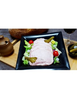 Rôti de Porc Cuit à l'Ancienne - 10 tranches 380 gr