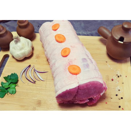 Rôti de Porc dans le Filet  sans os 1 kg (4 à 6 personnes) Porc Périgord