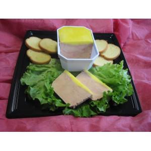 Terrine de Foie Gras de Canard Entier Mi-cuit 500 gr (8 à 10 personnes)