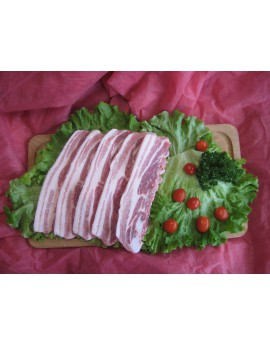 Ventrèche de Porc à griller 10 à 12 tranches - sous vide de 1 kg Porc Périgord